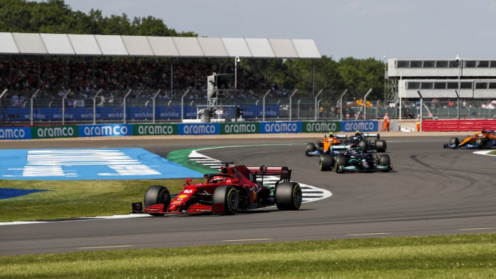 """Leclerc ranks Silverstone podium """"very high"""" on all-time best races"""