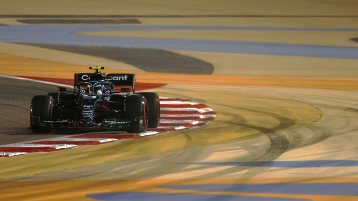 """Vettel """"upset and angry"""" after falling in Q1 on Aston Martin debut"""