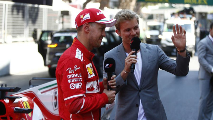 Rosberg sides with Vettel after Ferrari criticise driver