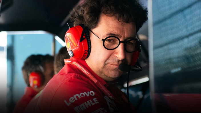 Ferrari 'ambitions reduced' after one point return from two weekends - Binotto