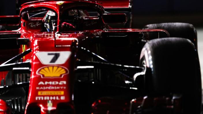 2e vrije training Singapore: Räikkönen de snelste, Verstappen derde