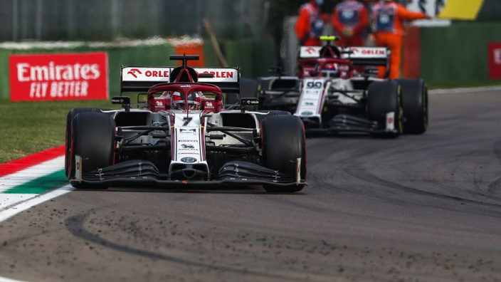 Alfa Romeo hoping for Ferrari engine improvement after suffering in 2020