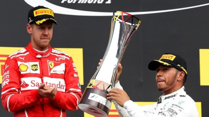 """Sebastian Vettel tevreden over Spa: """"We hebben een grote stap gezet"""""""