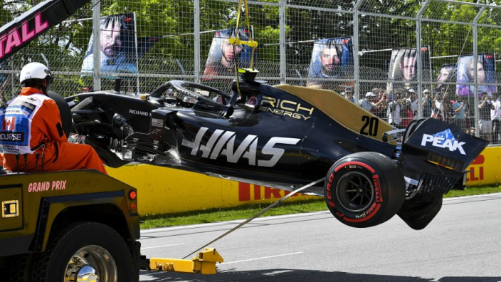 Magnussen apologises to Haas after dreadful Canadian GP