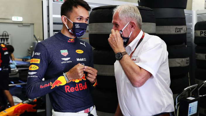 """Gutted Albon on Hamilton collision: """"I gave him as much space as I could"""""""