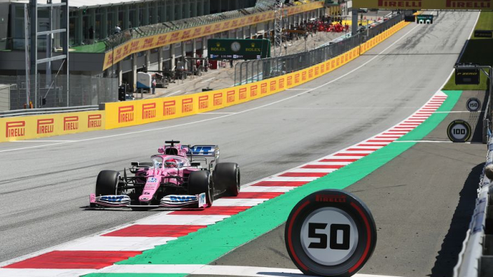 Perez kicks off Austria round two with leading first practice pace
