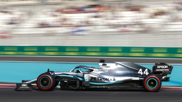 Abu Dhabi Grand Prix: Starting grid with penalties applied