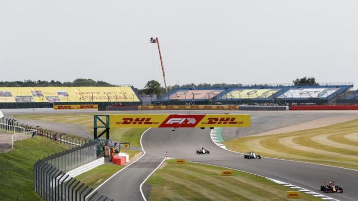 Weerbericht Grand Prix Groot-Brittannië: Bloedhete middag op Silverstone