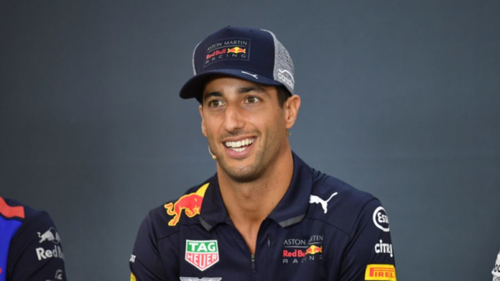 Is this Daniel Ricciardo's new girlfriend?