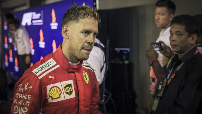 'Overrated' Vettel slammed by ex-Ferrari driver