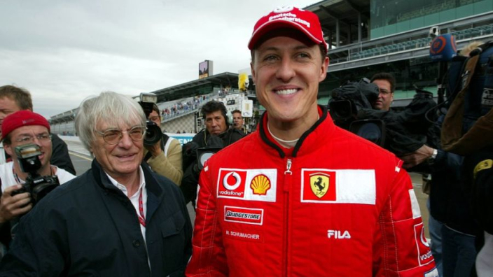 Ecclestone's Schumacher comments 'stupid'