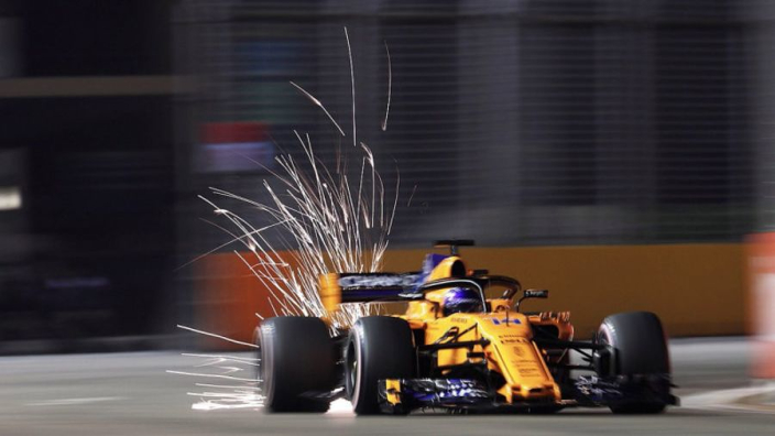 Missing Q3 'perfect' for Alonso