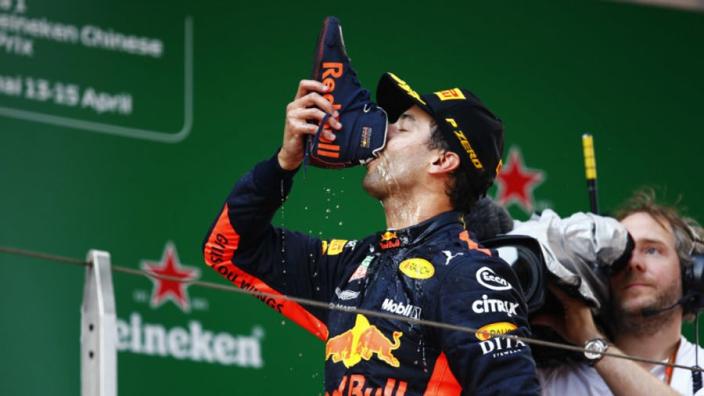 Ricciardo's 'good day' for contract talks