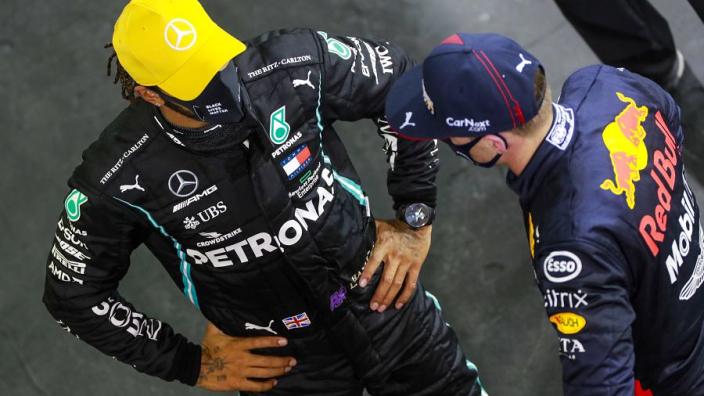 Coulthard over toekomst Hamilton: 'Zijn contract laat zien dat er twijfel is'