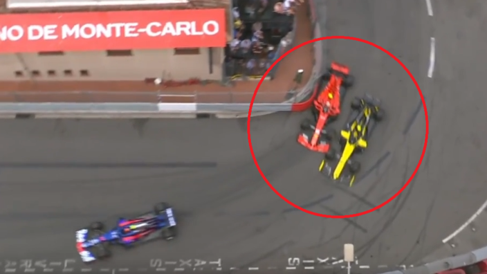 VIDEO: Leclerc punctures Ferrari with failed overtake!