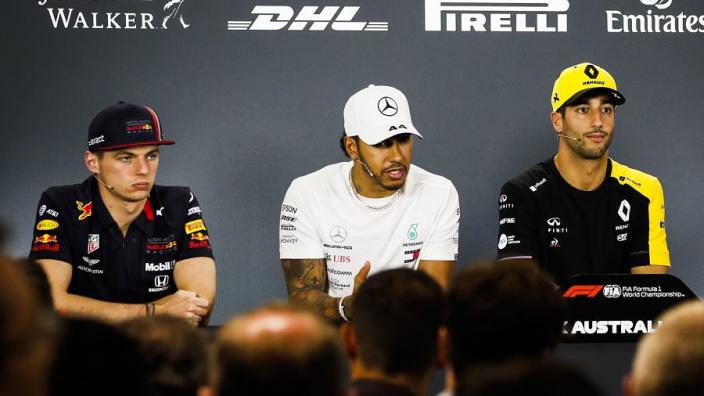 Verstappen één van de vijf coureurs op persconferentie voor Grand Prix Oostenrijk