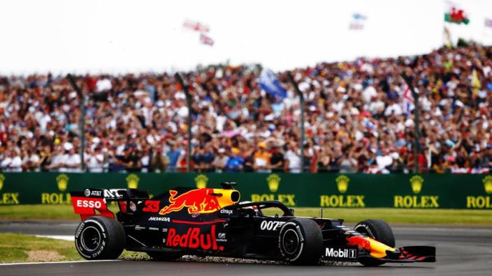 Verstappen: I don't know how I finished British Grand Prix