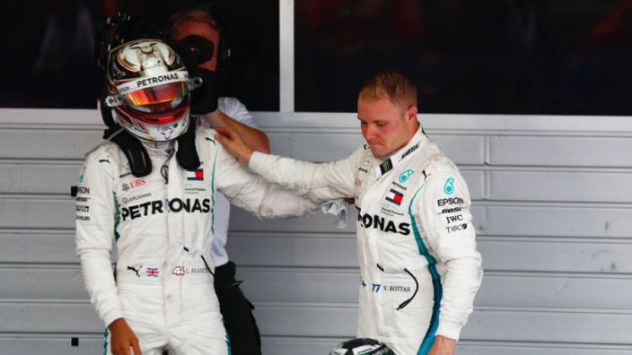 Hamilton couldn't beat Vettel without Bottas - Wolff