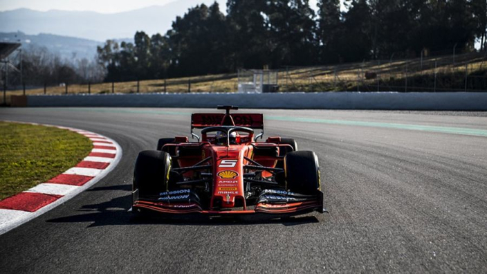 VIDEO: Vettel hits the track with Ferrari 2019 car for first time