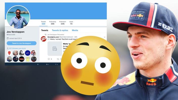 Jos retweets 'Verstappen could leave Red Bull' article