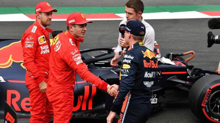 Zappeloni: 'Ferrari weigert Verstappen alleen maar vanwege Leclerc'