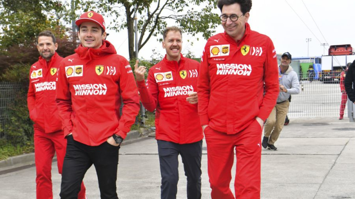Binotto: 'Women should be part of the Ferrari Academy'