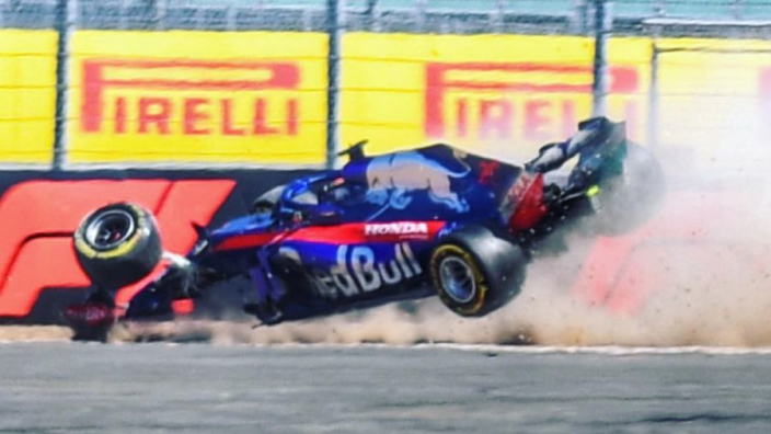Hartley relives terrifying Silverstone crash