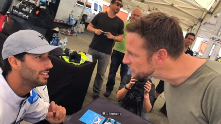 VIDEO: Button's birthday autograph from Ricciardo