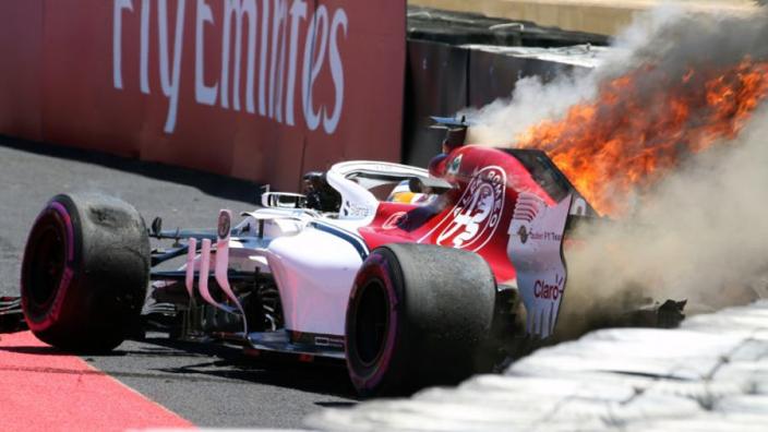 Marcus Ericsson mist tweede vrije training