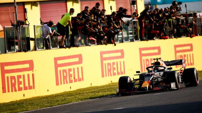 "Albon had Hamilton ""flashbacks"" ahead of ending podium drought"