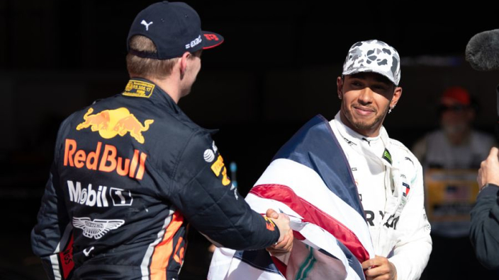 Hamilton: Verstappen fallout was 'fake'