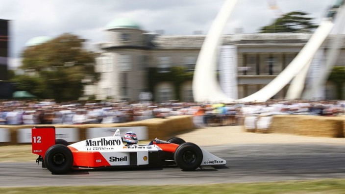 VIDEO: Senna's McLaren MP4/4 gets Goodwood outing