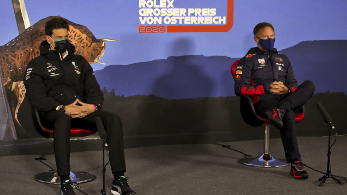 """Wolff waarschuwt Red Bull Racing: """"Kom maar op"""""""