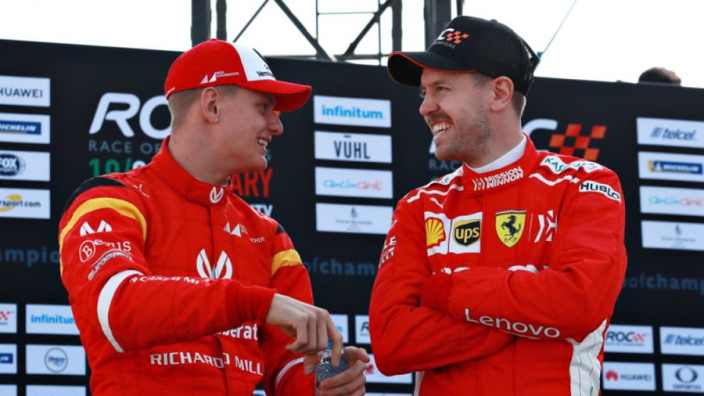 Vettel: Schumacher a future F1 star