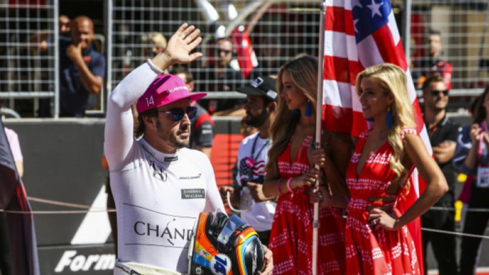 Alonso expecting 'magic atmosphere' in Austin