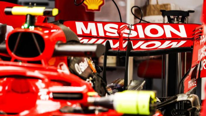 Ferrari drops 'Mission Winnow' from team name