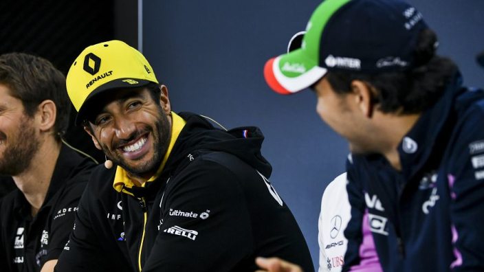"""Ricciardo """"had a bit of an idea"""" Perez axe announcement was due"""