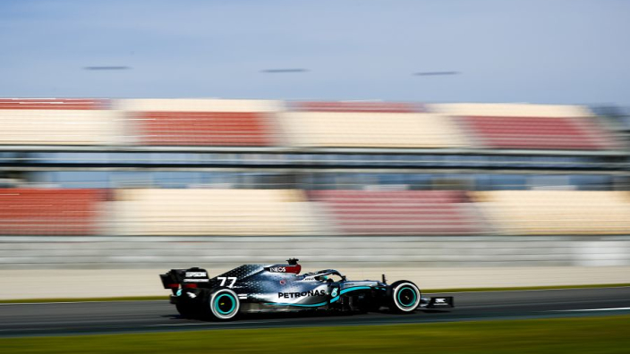 Bottas heads the first session of 2020 F1 pre-season testing