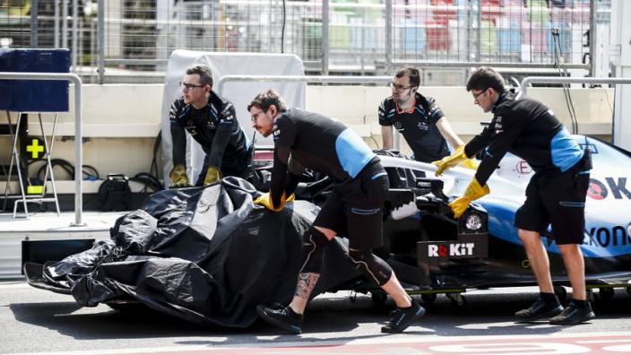Schade door putdeksel loopt voor Williams in honderdduizenden euro's