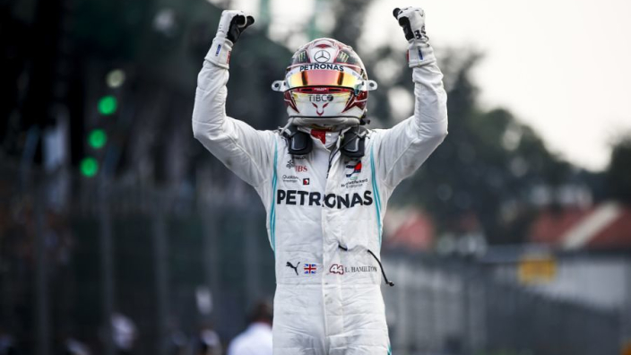 Hamilton: Mercedes struggled to Mexican GP win
