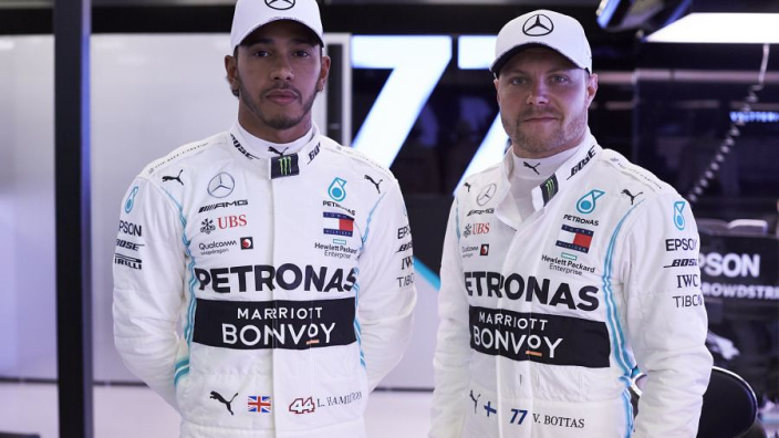 Mercedes fastest in FP2, Ferrari fifth and ninth