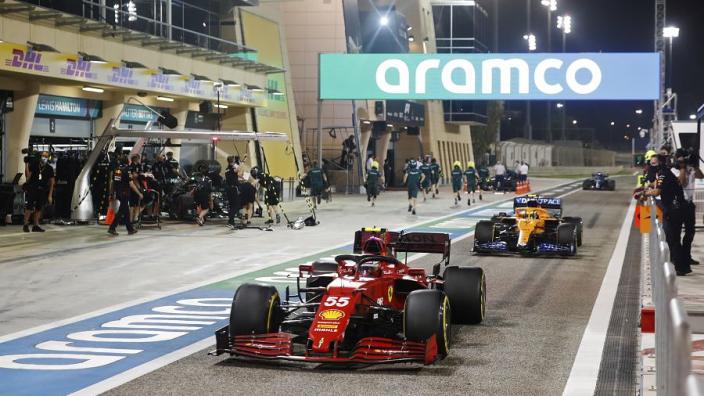 Sainz encouraged by Ferrari ability to challenge McLaren