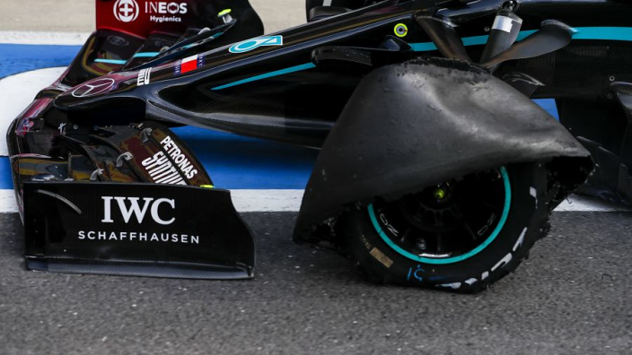 """Pirelli blame """"the most challenging operating conditions"""" for Silverstone tyre failures"""
