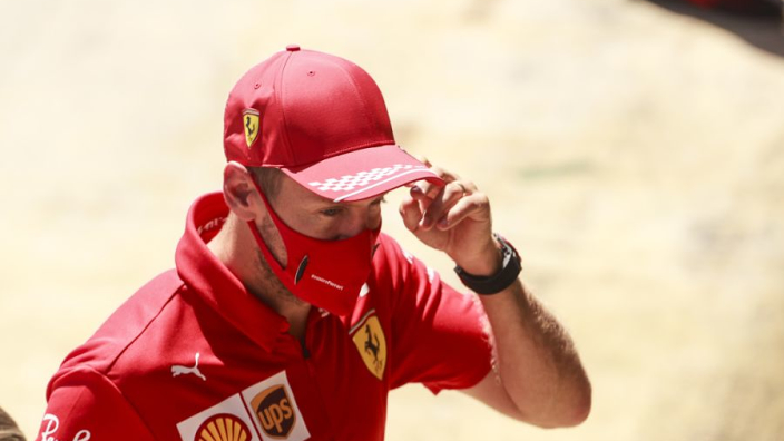 "Focused Vettel determined to navigate path through ""rough sea"" at Ferrari"