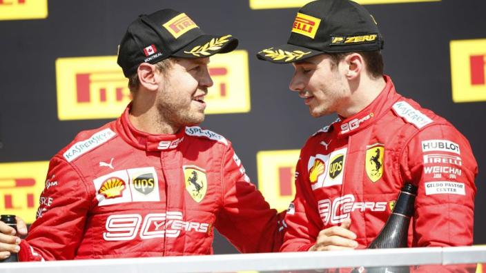 Leclerc form not enough to cancel Vettel's Ferrari 'priority'