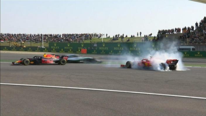 Hamilton feared 'catching' Verstappen-Vettel collision