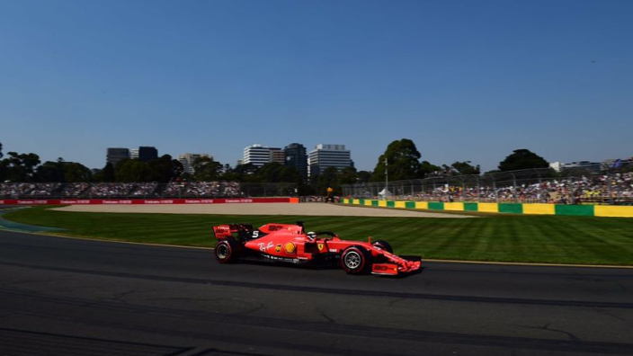 Vettel eyes Melbourne win, but Mercedes are 'clear favourites'