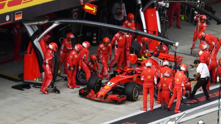 Vettel inspired by Ferrari team spirit