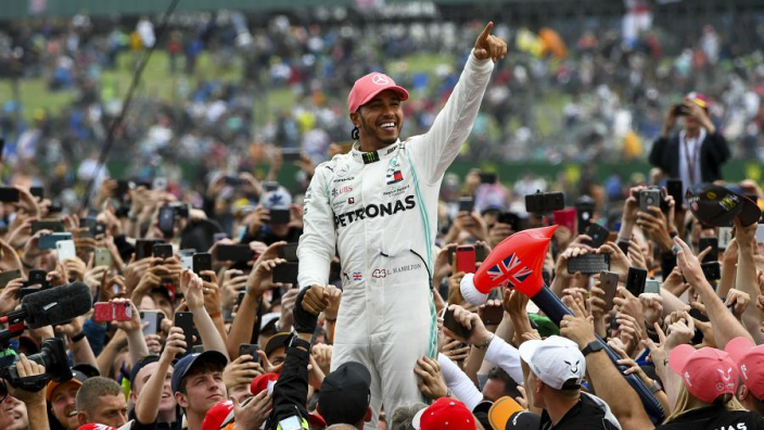 Hamilton proud of guaranteeing grandad's legacy after renaming of Silverstone straight