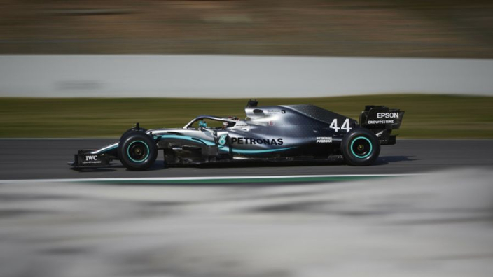 Hamilton and Vettel end testing quickest
